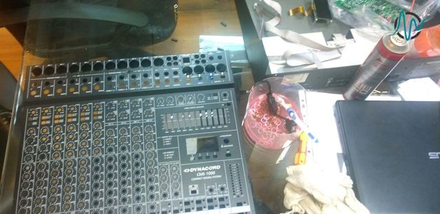 تعمیرات تجهیزات صوتی و تصویری